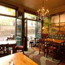 photo of the warwick castle restaurant