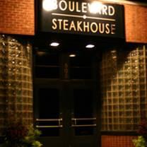 photo of boulevard steakhouse restaurant