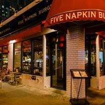 photo of 5 napkin burger - hell's kitchen restaurant