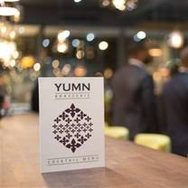 photo of yumn brasserie restaurant