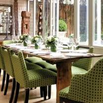 photo of the orangery at number sixteen hotel restaurant