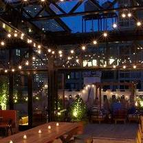 photo of refinery rooftop restaurant