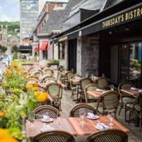 photo of thursday's montreal restaurant