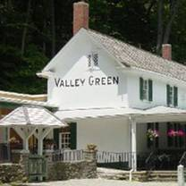 photo of valley green inn restaurant