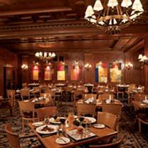 photo of the oak room - the westin st. francis restaurant
