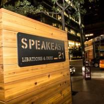 foto von speakeasy 21 restaurant