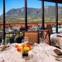 photo of mountain view restaurant at cheyenne mountain colorado springs, a dolce resort restaurant