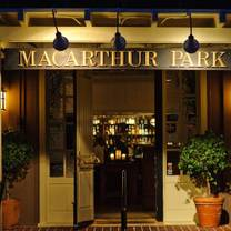 photo of macarthur park - palo alto restaurant