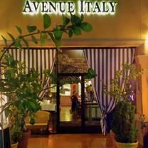 photo of avenue italy cucina italiana restaurant