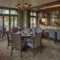 photo of the oak room at the granville inn restaurant