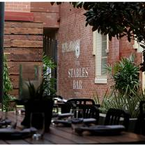 foto de restaurante the stables bar