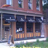photo of square one brewery & distillery restaurant