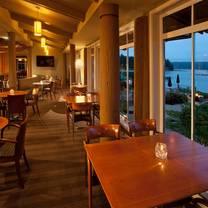 photo of the restaurant at alderbrook restaurant