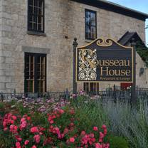 photo of rousseau house restaurant