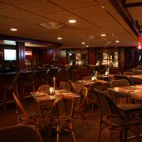 photo of the mahogany room at bar anticipation restaurant