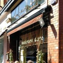 photo of boulevard cafe restaurant