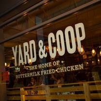 photo of yard and coop restaurant
