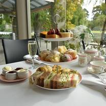 photo of the terrace cafe at royal botanic gardens restaurant