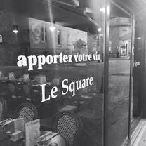 photo of restaurant le square restaurant