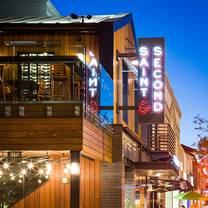 photo of saint & second restaurant