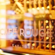 photo of cafe rouge woking restaurant