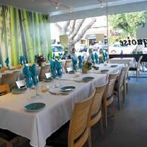 photo of turquoise restaurant