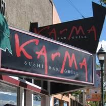 photo of karma sushi bar grill restaurant
