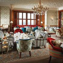 photo of afternoon tea at south lodge restaurant