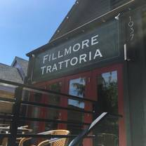 photo of fillmore trattoria restaurant
