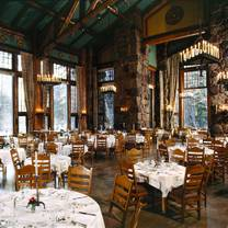 photo of the ahwahnee hotel restaurant