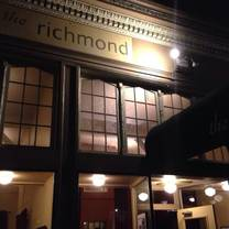 photo of the richmond restaurant