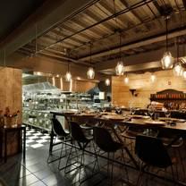 photo of black barn chef's table restaurant