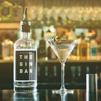 photo of the gin bar restaurant