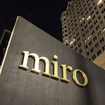 photo of miro restaurant