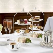 photo of afternoon tea at caffe concerto - 45 haymarket restaurant