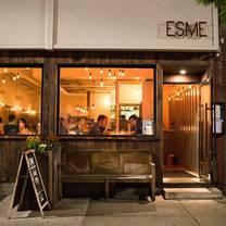 photo of esme restaurant