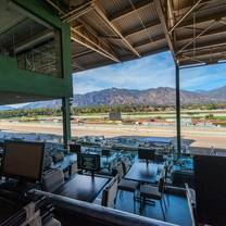 photo of turf terrace at santa anita park restaurant