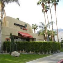 photo of manhattan in the desert - palm springs restaurant
