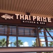 photo of thai prime kitchen & bar restaurant
