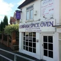 photo of cobham spice oven restaurant