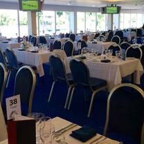 photo of the castle restaurant at royal windsor racecourse restaurant