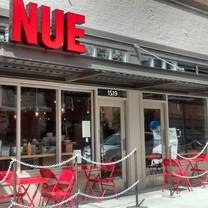 photo of nue restaurant