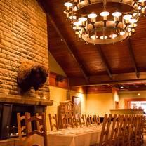 photo of the nook chophouse - fairmont jasper park lodge restaurant