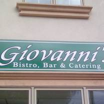 photo of giovanni's bistro & bar restaurant