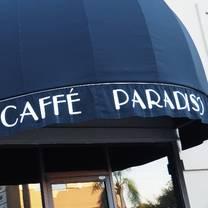 photo of caffe paradiso - tampa restaurant