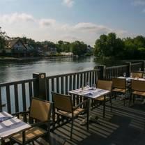 photo of blue river café restaurant