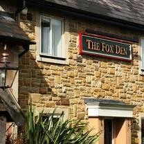 photo of the fox den restaurant