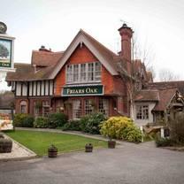 photo of the friars oak restaurant