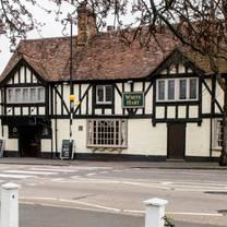 photo of the white lion - allesley restaurant