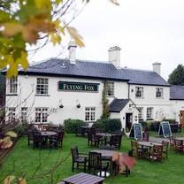 photo of the flying fox restaurant